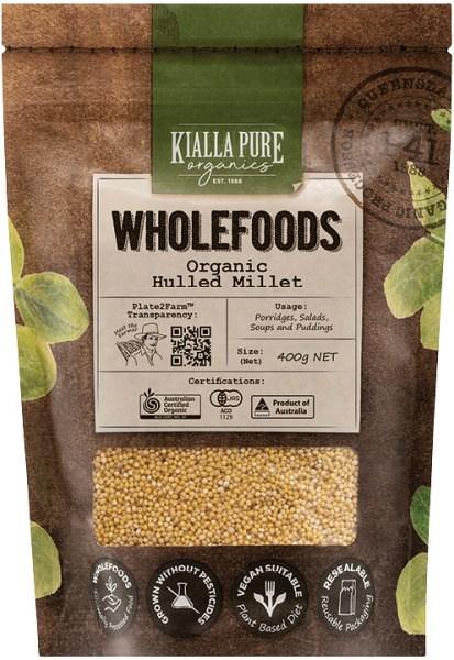 Kialla Pure Organics Organic Hulled Millet  400g