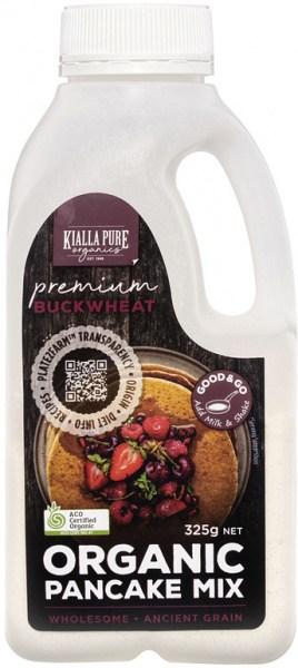 Kialla Pure Organics Organic Pancake Mix Buckwheat  325g