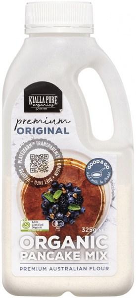 Kialla Pure Organics Organic Pancake Mix Original 325g