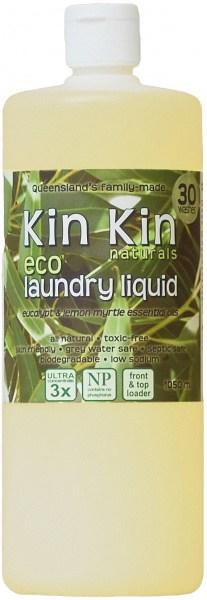 Kin Kin Naturals Eco Laundry Liquid Eucalypt & Lemon Myrtle 1050ml