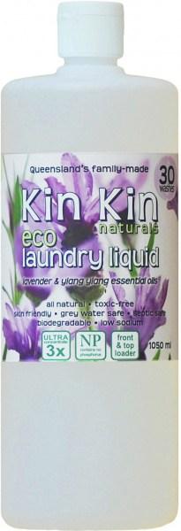 Kin Kin Naturals Eco Laundry Liquid Lavender & Ylang Ylang 1050ml