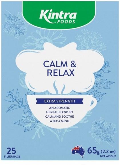 Kintra Foods Calm & Relax Tea 25Teabags