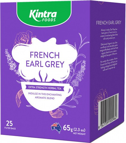 Kintra Foods English French Earl Grey 25Teabags