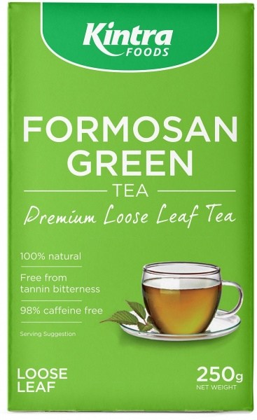 Kintra Foods Organic Formosan Green Tea Loose Leaf 250g