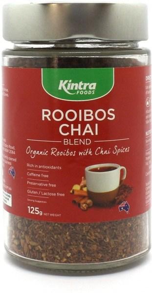 Kintra Foods Organic Rooibos Chai  125g Jar