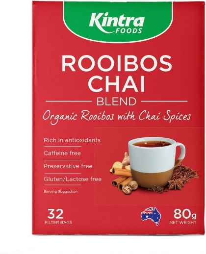 Kintra Foods Organic Rooibos Chai  32Teabags