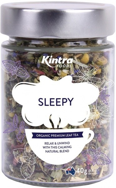 Kintra Foods Organic Sleepy Leaf Tea 40g Jar
