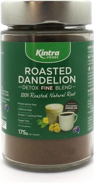 Kintra Foods Roasted Dandelion Blend Fine Ground  175g