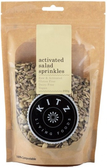 Kitz Living Foods Organic Activated Salad Sprinkles  200g