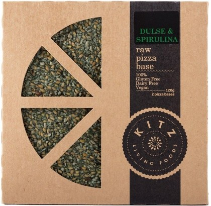 Kitz Living Foods Organic Dulse & Spirulina Raw Pizza Base 120g