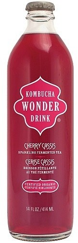 Kombucha Wonder Drink Cherry Cassis 414ml