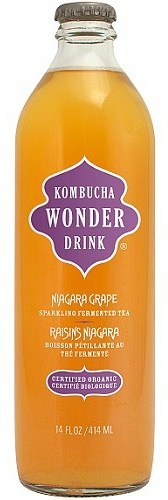 Kombucha Wonder Drink Niagara Grape 414ml