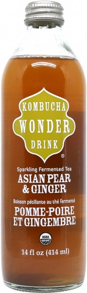 Kombucha Wonder Kombucha Asian Pear & Ginger 414ml