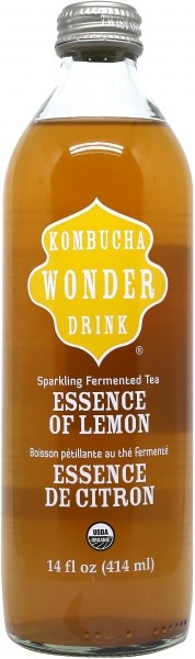 Kombucha Wonder Kombucha Essence Of Lemon 414ml