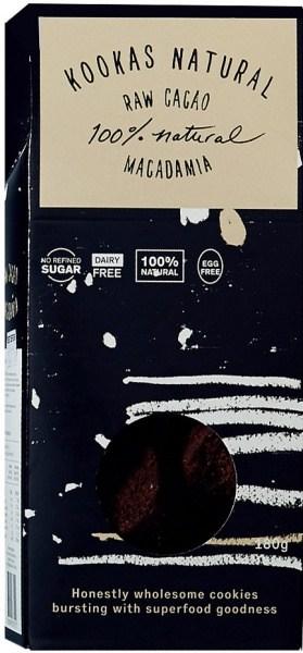Kookas Natural Raw Cacao Macadamia 180g