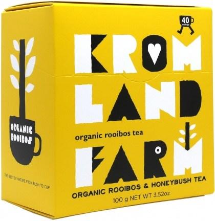 Kromland Farm Organic Rooibos Honeybush 40 Teabags