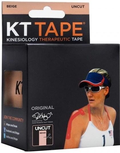 KT Tape Cotton 16 ft Uncut Beige
