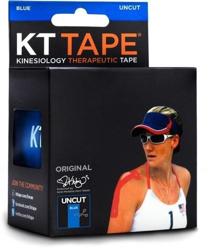 KT Tape Cotton 16 ft Uncut Blue
