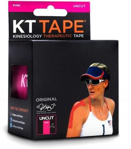 KT Tape Cotton 16 ft Uncut Pink