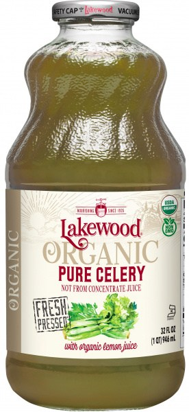 Lakewood Organic Celery Juice 946ml