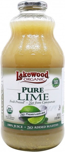 Lakewood Organic Lime Juice 946ml