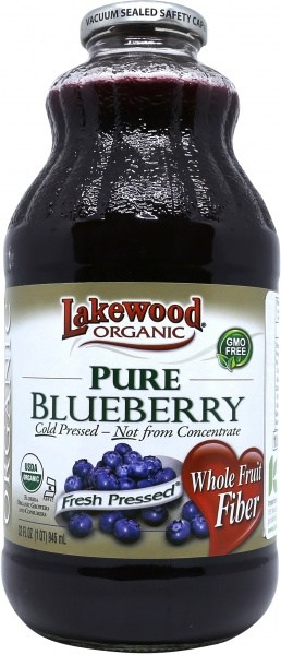Lakewood Pure Organic Blueberry 946ml