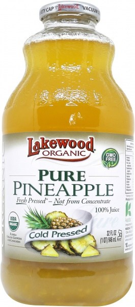 Lakewood Pure Organic Pineapple 946ml