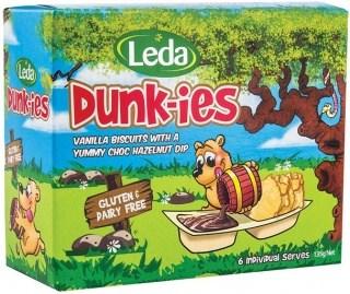 Leda Dunk-ins w/Choc Hazelnut Dip  135g