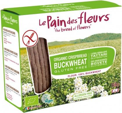 LePain des Fleurs Organic Buckwheat Crispbread  150g
