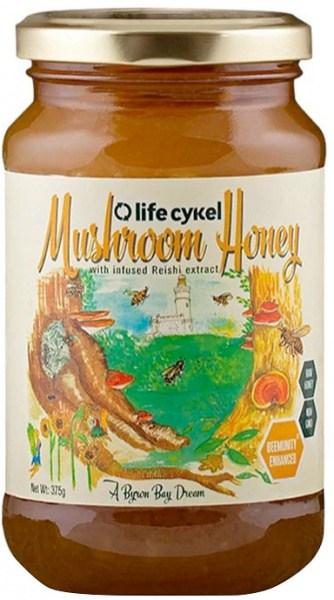 Life Cykel Mushroom Honey 375g
