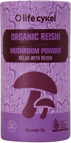 Life Cykel Organic Reishi Mushroom Powder 50g