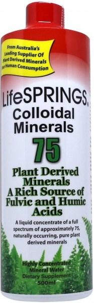 LifeSprings Colloidal Minerals 500ml