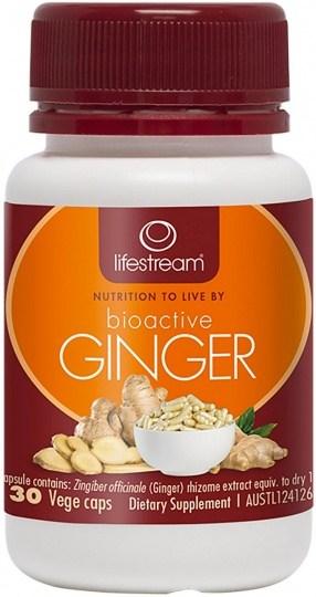 Lifestream Bioactive Ginger 30 caps