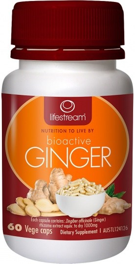 Lifestream Bioactive Ginger 60 caps