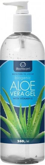 Lifestream Biogenic Aloe Vera Gel Pump 260g