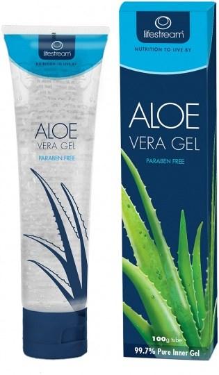 Lifestream Biogenic Aloe Vera Gel Tube 100g DEC19