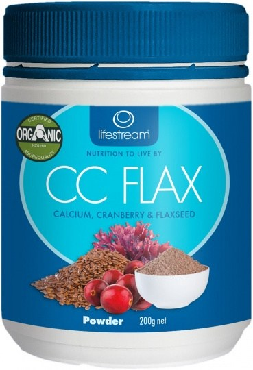 Lifestream Cranberry, Calcium and Flaxseed Powder (CCFlax) 200g