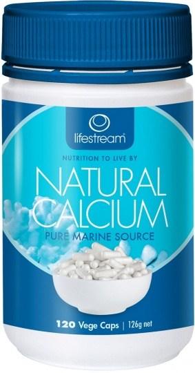 Lifestream Natural Calcium 120 Capsules 120 caps