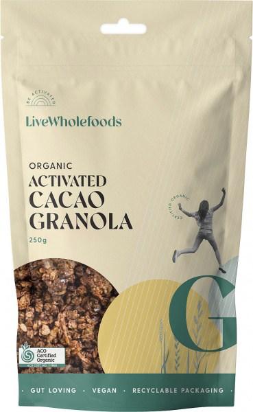 Live Wholefoods Cacao Granola (Holy Cacao) 250g