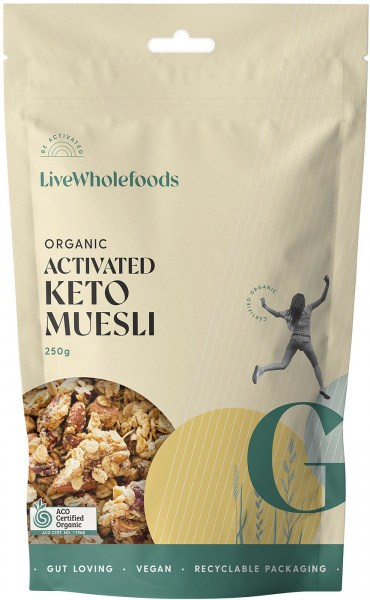 Live Wholefoods Keto Granola (Paleo) 250g
