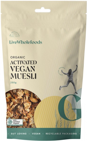 Live Wholefoods Vegan Granola (Activated Muesli) 250g