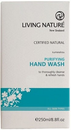 Living Nature Purifying Hand Wash 250ml