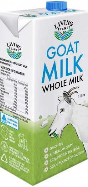 Living Planet Goats Milk 1L