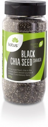 Lotus Chia Seeds Black Jar  355g
