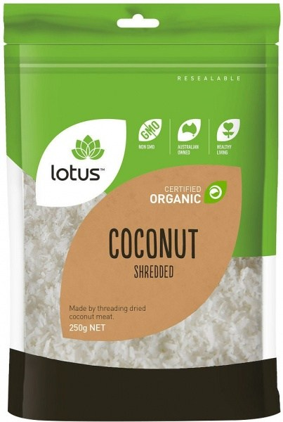Lotus Coconut Shredded Organic  250g