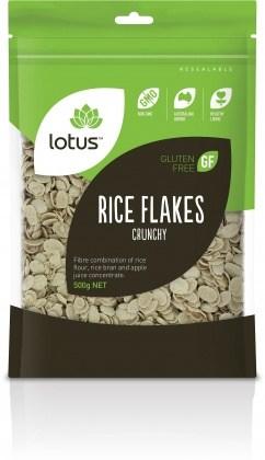 Lotus Crunchy Rice Flakes  500gm