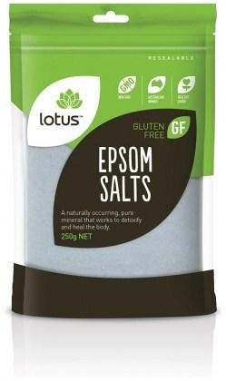 Lotus Epsom Salts 250gm