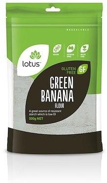 Lotus Green Banana Flour  500g