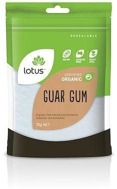Lotus Guar Gum Organic  75g