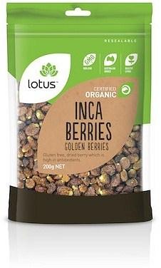 Lotus Inca Berries (Golden Berries) Organic  200g
